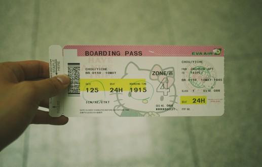 Back home—Taiwan