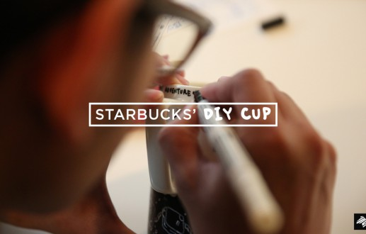 Starbucks' DIY Cup