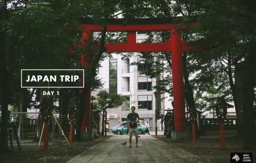 Japan Trip—Day 1