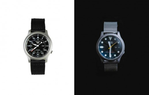 My Seiko SNK809 Watch Mod
