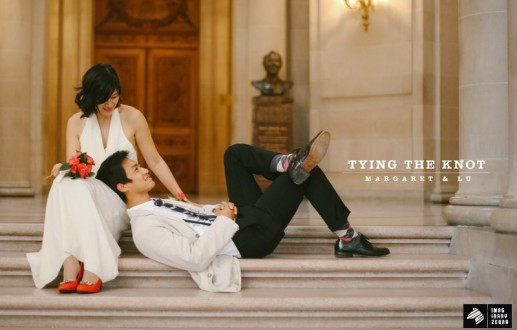 Tying the Knot—Margaret and Lu