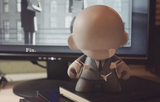 Paperman Inspired Munny Project