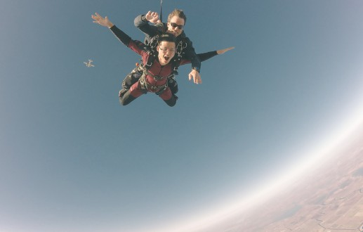 Birthday spent 13500 ft above ground—My first skydiving experience