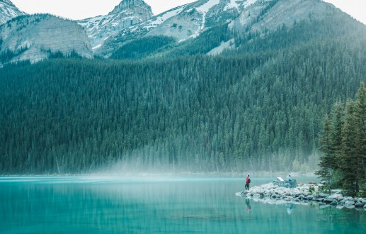 Road tripping at Banff and Jasper National Parks